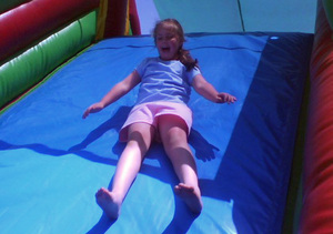 Emma_on_slide_bday_on_blvd_2
