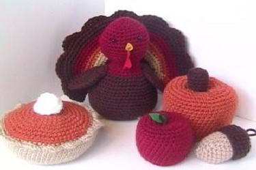 Projects Around the House: Crochet Turkey Baby Hat Pattern